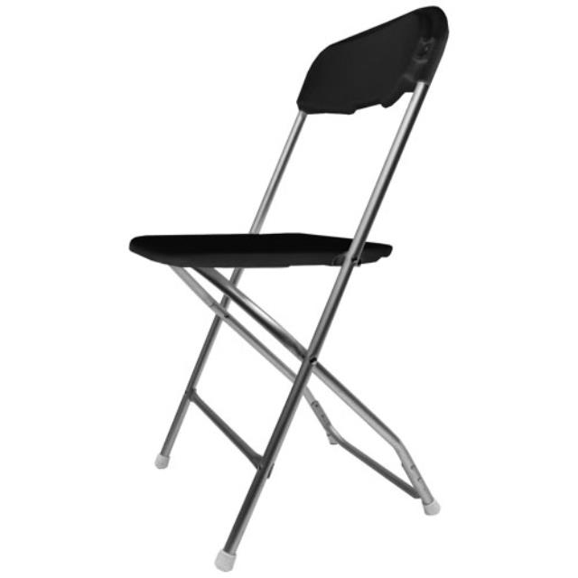 Where to find CHAIR BLACK FOLDING in Mentor