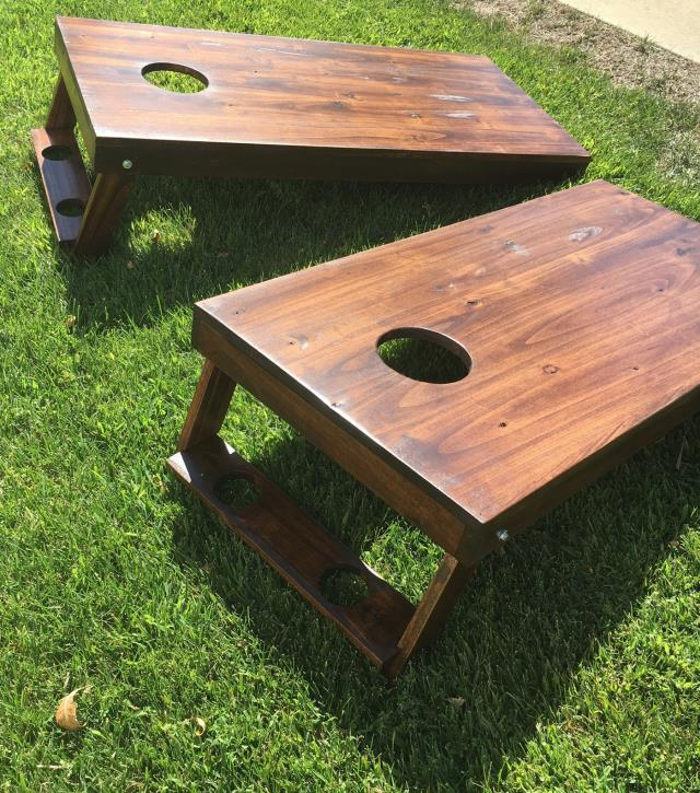 Where to find GAME CORN HOLE NATURAL WOOD in Mentor