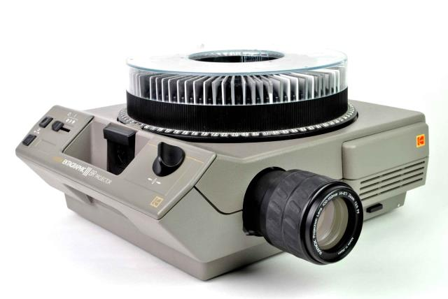 Where to find SLIDE PROJECTOR in Mentor