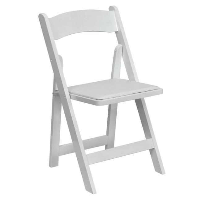 Where to find CHAIR WHITE PADDED in Mentor