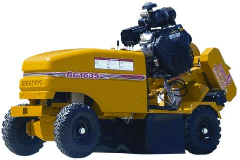 Where to find STUMP GRINDER 35 HP GAS in Mentor