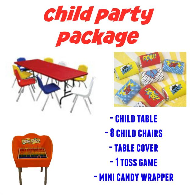 Where to find CHILDRENS PARTY PKG- in Mentor