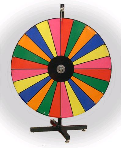 Where to find CASINO COLOR WHEEL in Mentor