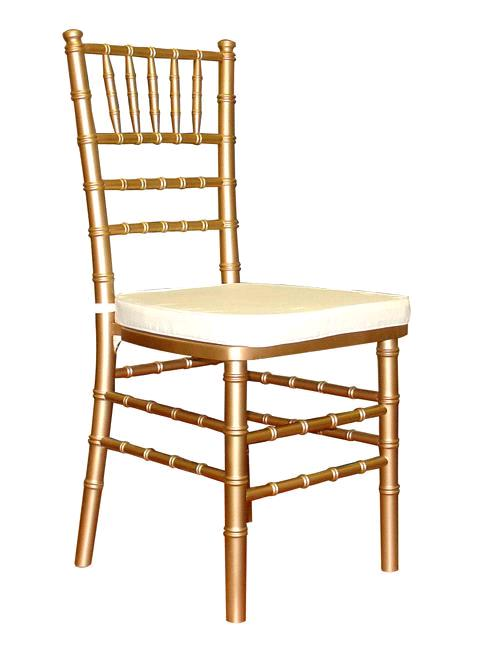 Where to find CHAIR CHIAVARI GOLD W  IVORY CUSHION in Mentor