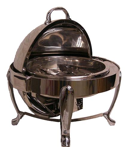 Where to find CHAFING DISH ROLL TOP 8 QT in Mentor