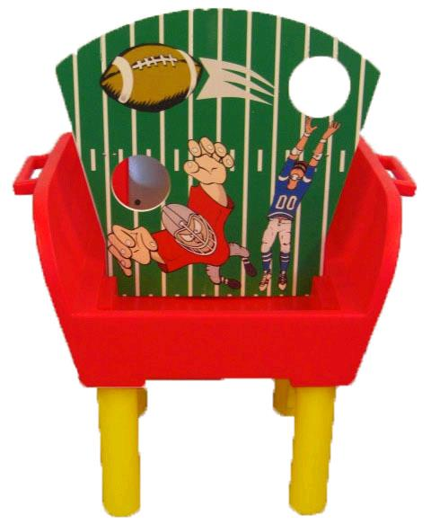 Where to find GAME FOOTBALL TOSS in Mentor