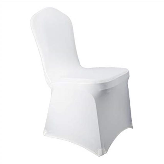 Where to find CHAIR COVER SPANDEX WHITE in Mentor