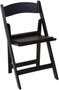 Rental store for CHAIR BLACK PADDED in Mentor OH