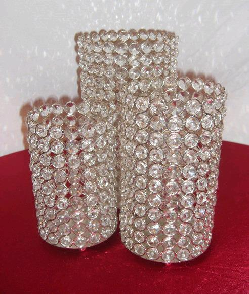 Where to find CENTERPIECE CRYSTAL CYLINDER PKG in Mentor