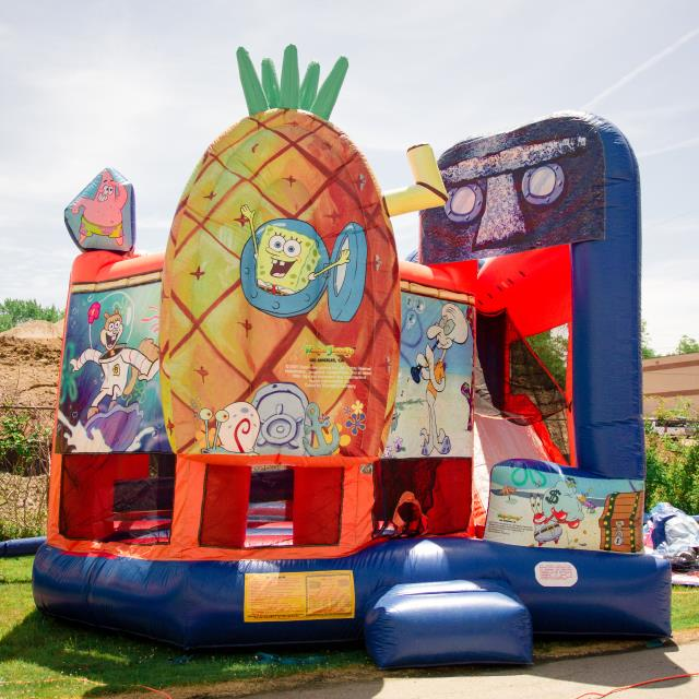 Where to find GAME INFLATABLE SPONGE BOB in Mentor