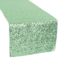 Rental store for LINEN SUN TABLE RUNNER SEQUIN- MINT in Mentor OH