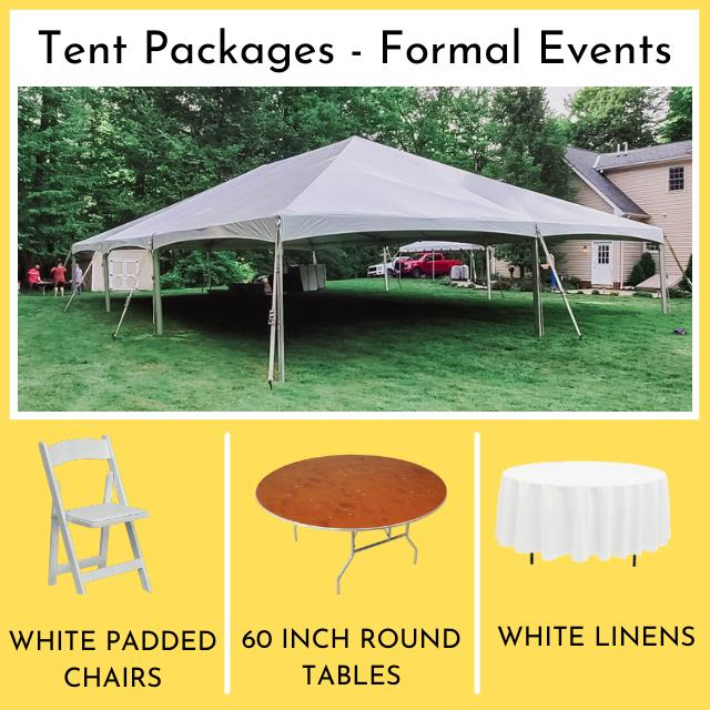 Rent Tent Packages - Formal Events