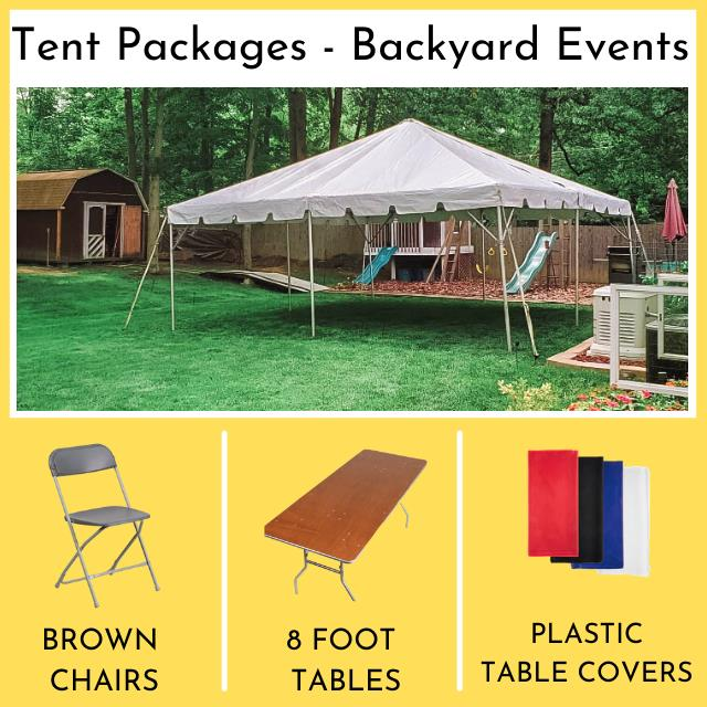 Rent Tent Packages - Backyard Events